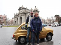 Next to the Puerta de Alcalá with the 600