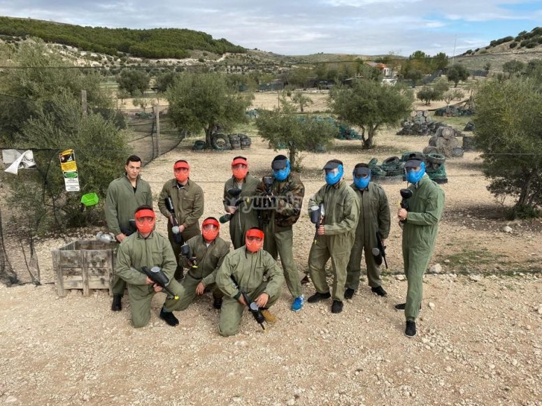 Prepared for the best game of paintball