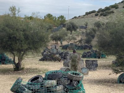 Paintball Game with 100 balls Arganda del Rey