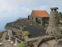 Mirador en la isla de El Hierro