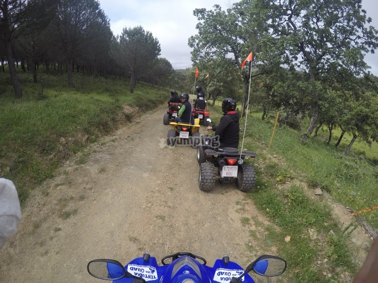 Salida en quad para grupos