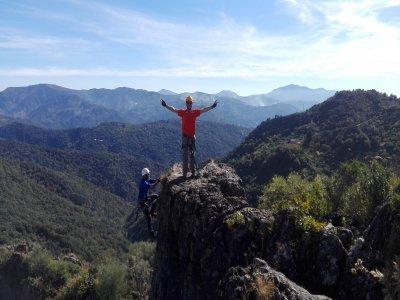 Vía ferrata en Atajate en Málaga de 2 horas