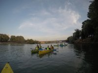 Kayak trip through Seville