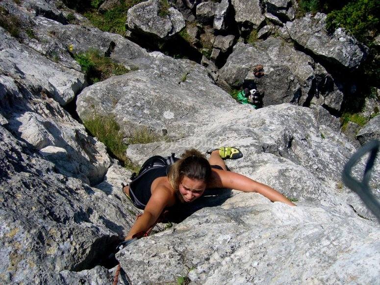 Climbing in difficult circumstance