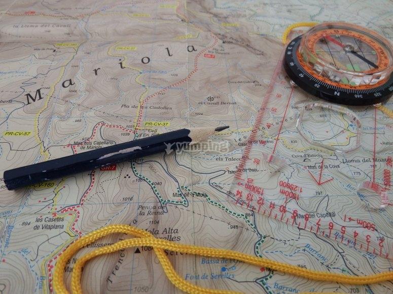 Mapa y orientacion
