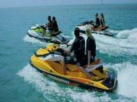 Alquiler moto de agua sin licencia Valencia 30 min