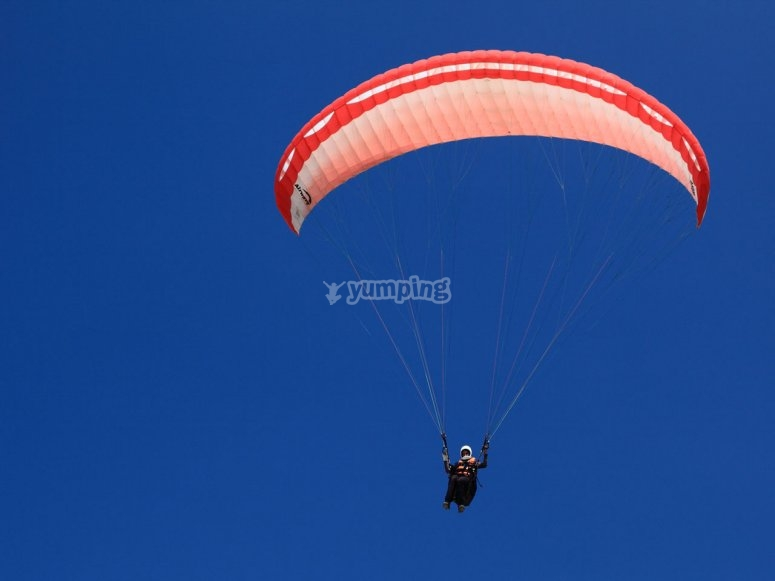 Diversion en parapente