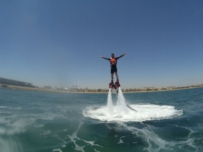 A 20-minute Flyboard Session in Valencia