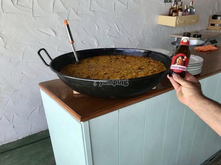 Preparazione del riso