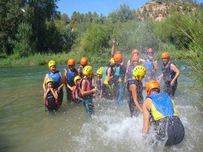 Campamento fin de curso en Las Hoces del Cabriel