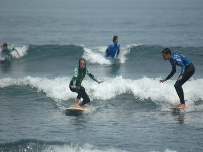 冲浪课程从周一到周五10小时