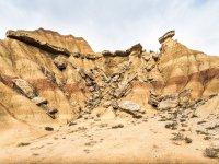 Formaciones rocosas en Bardenas