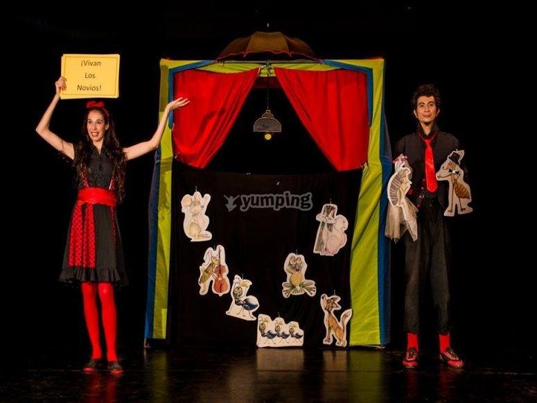 剧院和木偶