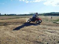 Entrenamiento de motos