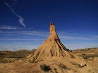 Formaciones rocosas en el desierto de Bardenas
