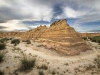 Precioso desierto de Las Bardenas
