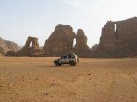 En 4x4 por el desierto de Bardenas