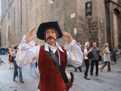 Route for children in Barcelona about Cervantes
