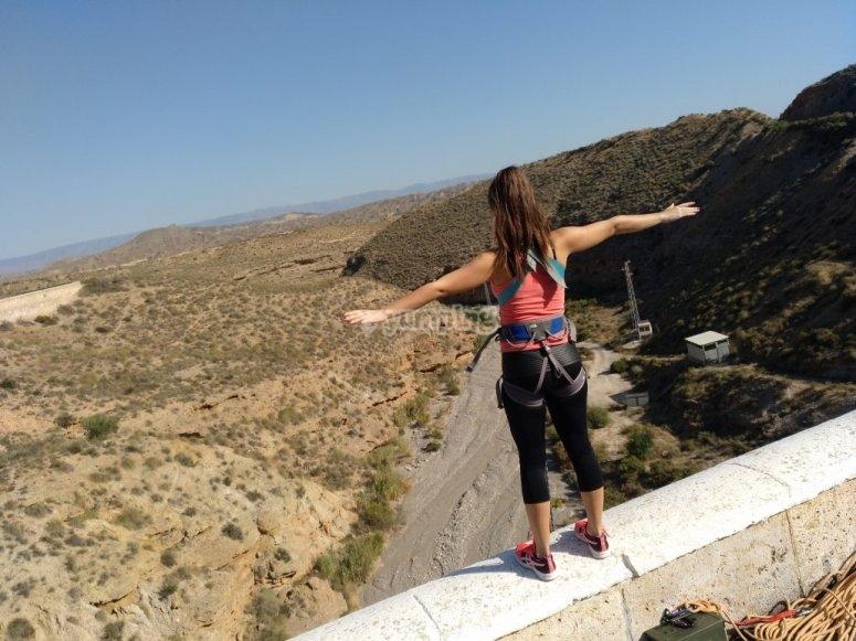 Panoramica puenting