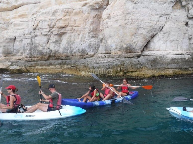 皮划艇悬崖
