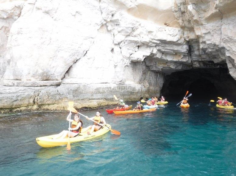 海盗洞穴皮划艇