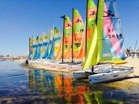 Curso de iniciación al catamarán en Huelva 10 hrs