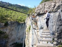 Vía Ferrata en Cuenca de 4 horas con transporte