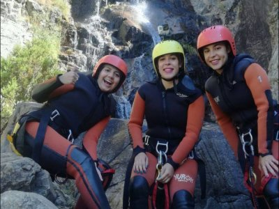 Canyoning in Somosierra, Madrid
