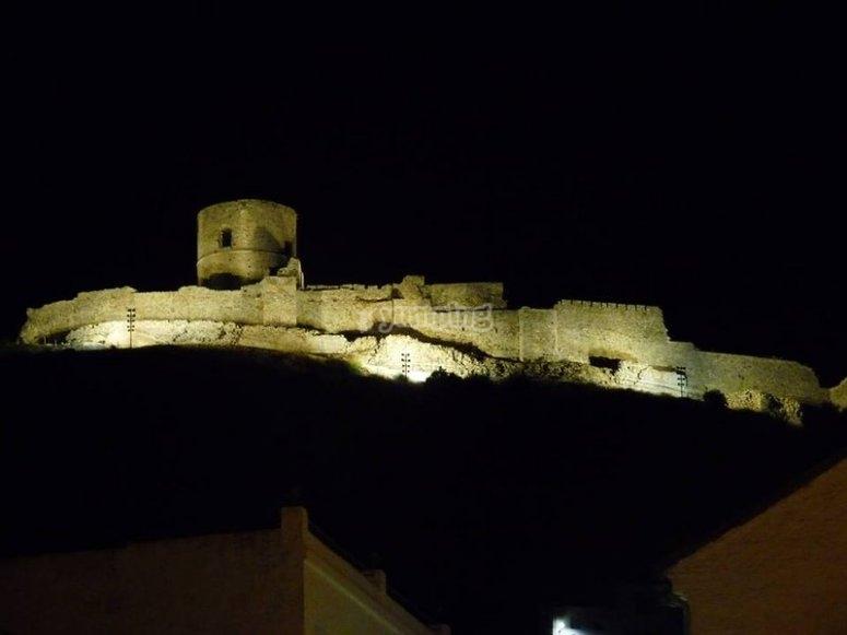 Anochece en la fortaleza