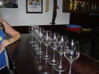prepared glasses