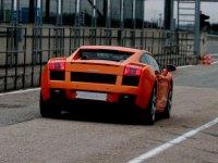Guida di una Lamborghini in pista