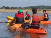 Recorrido en canoa