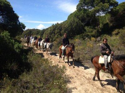 Itinerario romantico a cavallo attraverso Doñana ed El Rocío