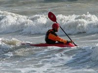 A kayak modality with surfing influences