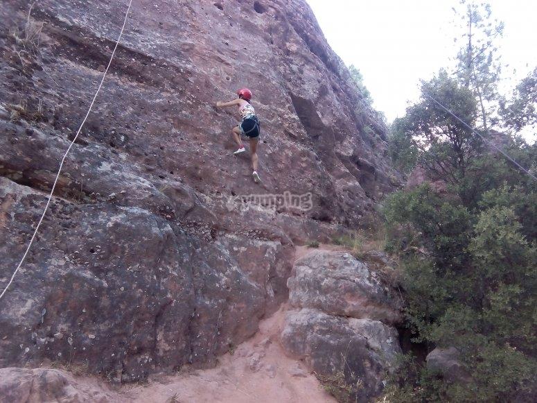 Instructor de escalada