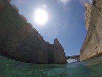 Snorkel en la costa de Ceuta