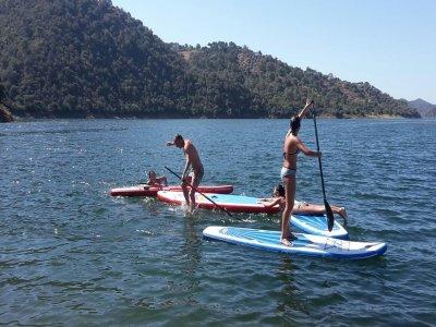 Corso di iniziazione SUP sul Lago di Istán con percorso