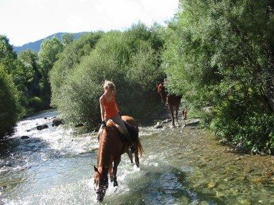 2 h. de excursi�n a caballo + mini clase gratis