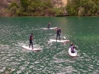 Stand-up Paddle en el cañón del Río Guadiela