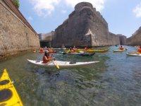 Kayak blanco individual