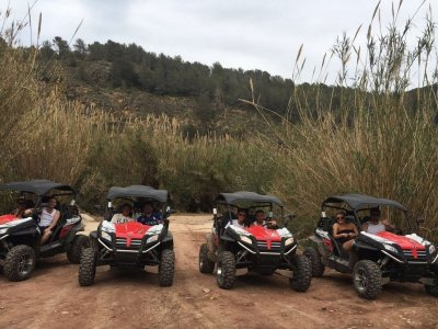 Dune Buggy Route in Benidorm Groups