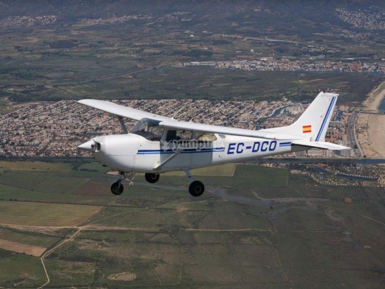 Avioneta vuelos turisticos