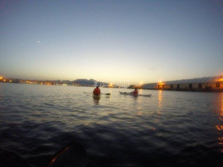 Navegando por el litoral ceuti