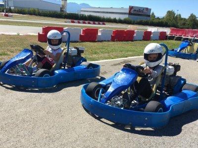Karting para niños en León Manga de 10 minutos