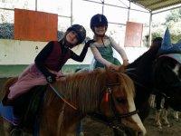 Peques de princesa a caballo