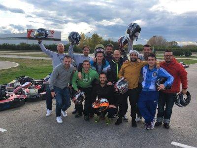 Gran premio de karting en León con comida berciana