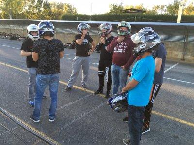 GP Karting en León + Paintball 300 bolas + menú.