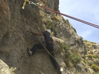 开始在格拉纳达攀登