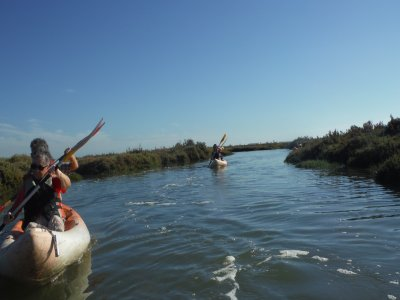 Excursión de kayak en Isla Cristina