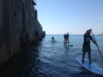 Paddle surf lesson in Barcelona